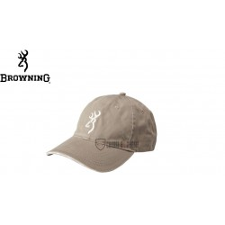 CASQUETTE BROWNING GREY...
