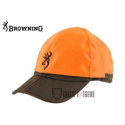 CASQUETTE BIFACE BROWN ORANGE