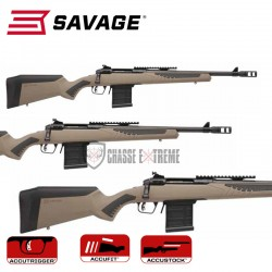 CARABINE SAVAGE 110 SCOUT...
