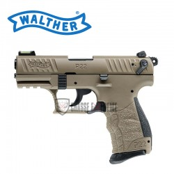PISTOLET WALTHER P22QD FDE...