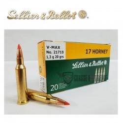 20 Munitions S&B cal 17...