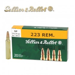 20 MUNITIONS S&B SP CAL 223...