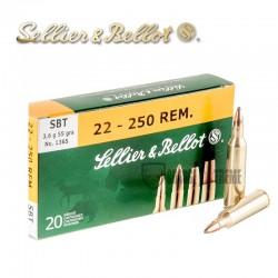 20 Munitions S&B cal.22-250...