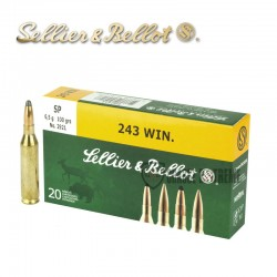 20 MUNITIONS S&B SP CAL 243...