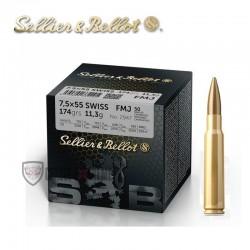 50 Munitions S&B cal 7.5×55...