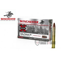MUNITIONS WINCHESTER 9.3X74...
