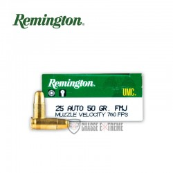 50 MUNITIONS REMINGTON UMC...