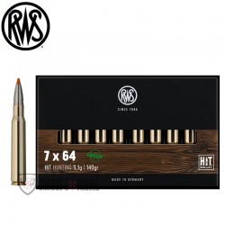 20 Munitions RWS cal 7X64...