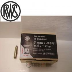 50 Ogives RWS cal 7mm 177gr...