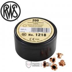 Amorces RWS Poudre Noire 1218