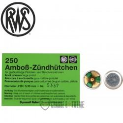 Amorces RWS Boxer Sinoxid...
