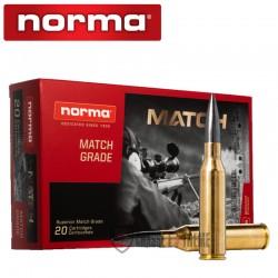 20 Munitions-NORMA-Cal 338 Lm-300gr-Sierra Diamond Line-Match