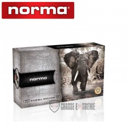 10 MUNITIONS NORMA SOLIDE...