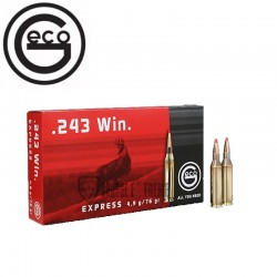 20 Munitions GECO cal 243...