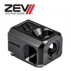 Compensateur ZEV PRO V2 9mm 13,5x1LH Noir
