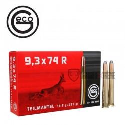 Munitions-GECO-Demi-Blindée-calibre- 9.3X74R-255gr-TM