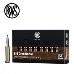 Munitions-RWS-calibre-6,5-Creedmoor-140-gr-Speed-Tip-Pro