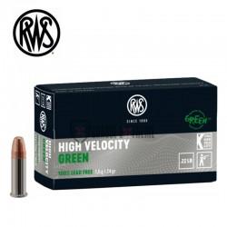 Munitions-RWS-High-Velocity-Green-calibre-22-Lr-24-grains
