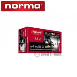 50 Munitions-NORMA-Biathon Match-22- -cal 22lr