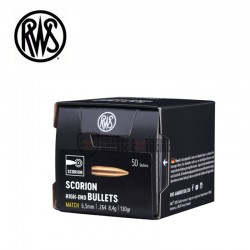 Ogives-RWS-calibre-6.5-mm-130-grains-Scorion