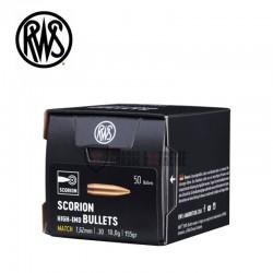 Ogives-RWS-calibre-30-155-grains-Scorion