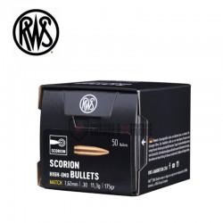 Ogives-RWS-calibre-30-175-grains-Scorion