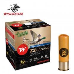 25-cartouches-winchester-zz-canard-25g-calibre-2070