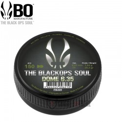 150 Plombs-the Black-Ops-SouL-Dome cal 6.35 mm