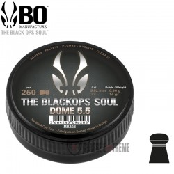 Plombs-the Black Ops Soul-Dome-cal 5.5 mm