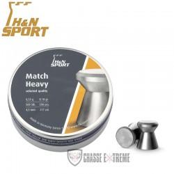 500-Plombs-H&N-Match-Heavy-cal 4.5 mm