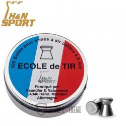 500-Plombs-H&N-Ecole de Tir-cal 4.5 mm