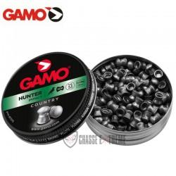 200-Plombs-GAMO-Hunter-Tête-Ronde-cal 6.35 mm