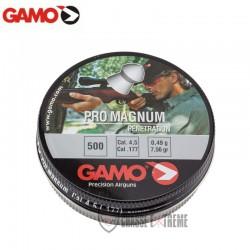 500-Plombs-GAMO-Pro-Magnum-Tête-Pointue-cal 4.5 mm