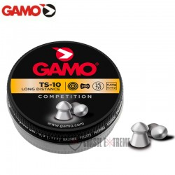 200-Plombs-GAMO-TS-10-Tête-Pointue-cal 4.5 mm
