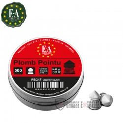 500-Plombs-EUROP-ARM-Tête-Pointue-cal 4.5 mm