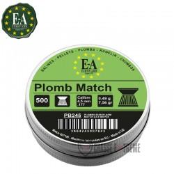 500 Plombs EUROP-ARM Match...