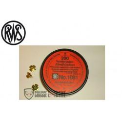 Amorces RWS Poudre Noire 1081