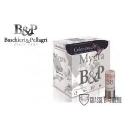 25-cartouches-bp-mygra-colombaccio-36-gr-cal-12/70