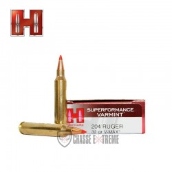 MUNITIONS HORNADY 204 RUGER...