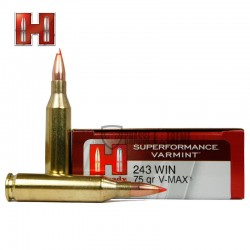 MUNITIONS HORNADY 243WIN 75...